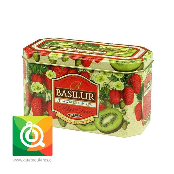 Basilur Lata Té Negro Frutilla y Kiwi - Magic Fruit Strawberry & Kiwi- Image 2
