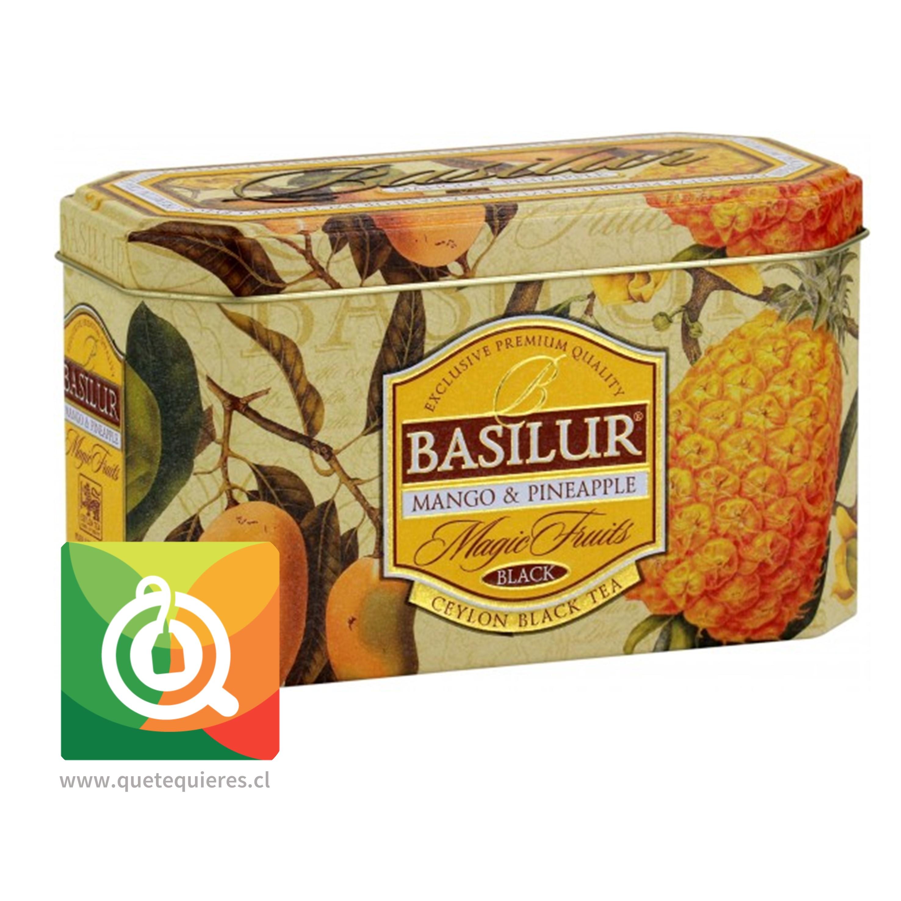 Basilur Lata Té Negro Mago y Piña - Magic Fruit Mango & Pineapple - Image 1