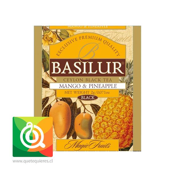 Basilur Lata Té Negro Mago y Piña - Magic Fruit Mango & Pineapple - Image 2