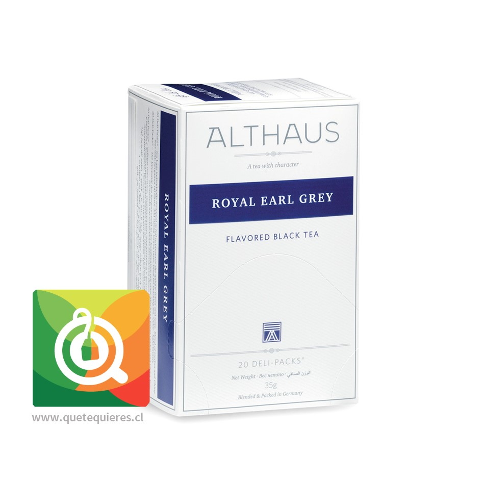 Althaus Té Negro Royal Earl Grey - Bergamota- Image 1