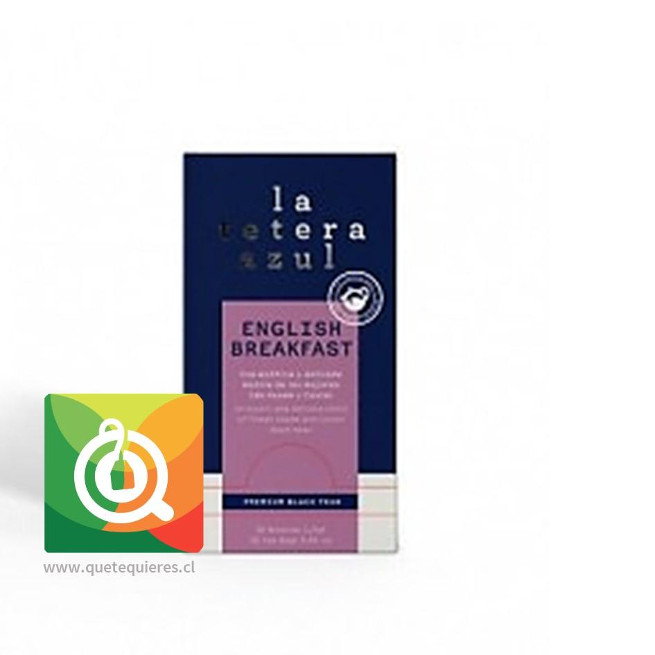 La Tetera Azul Té English Breakfast 30 Bolsitas- Image 1