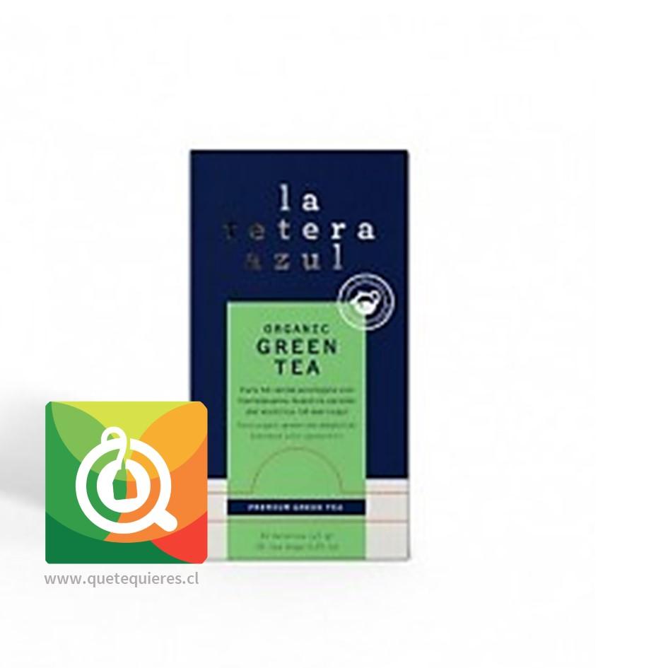 La Tetera Azul Té Verde Menta Orgánico -  Organic Green Tea 30 x 1.5 gr- Image 1