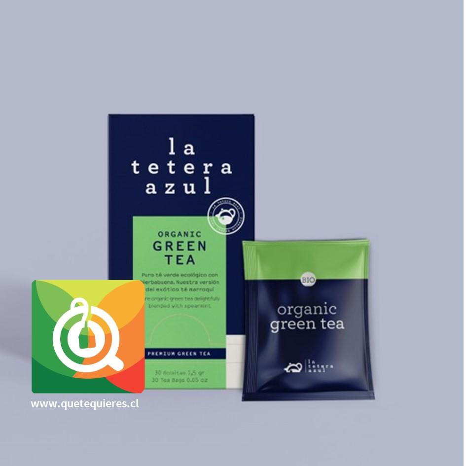 La Tetera Azul Té Verde Menta Orgánico -  Organic Green Tea 30 x 1.5 gr- Image 2