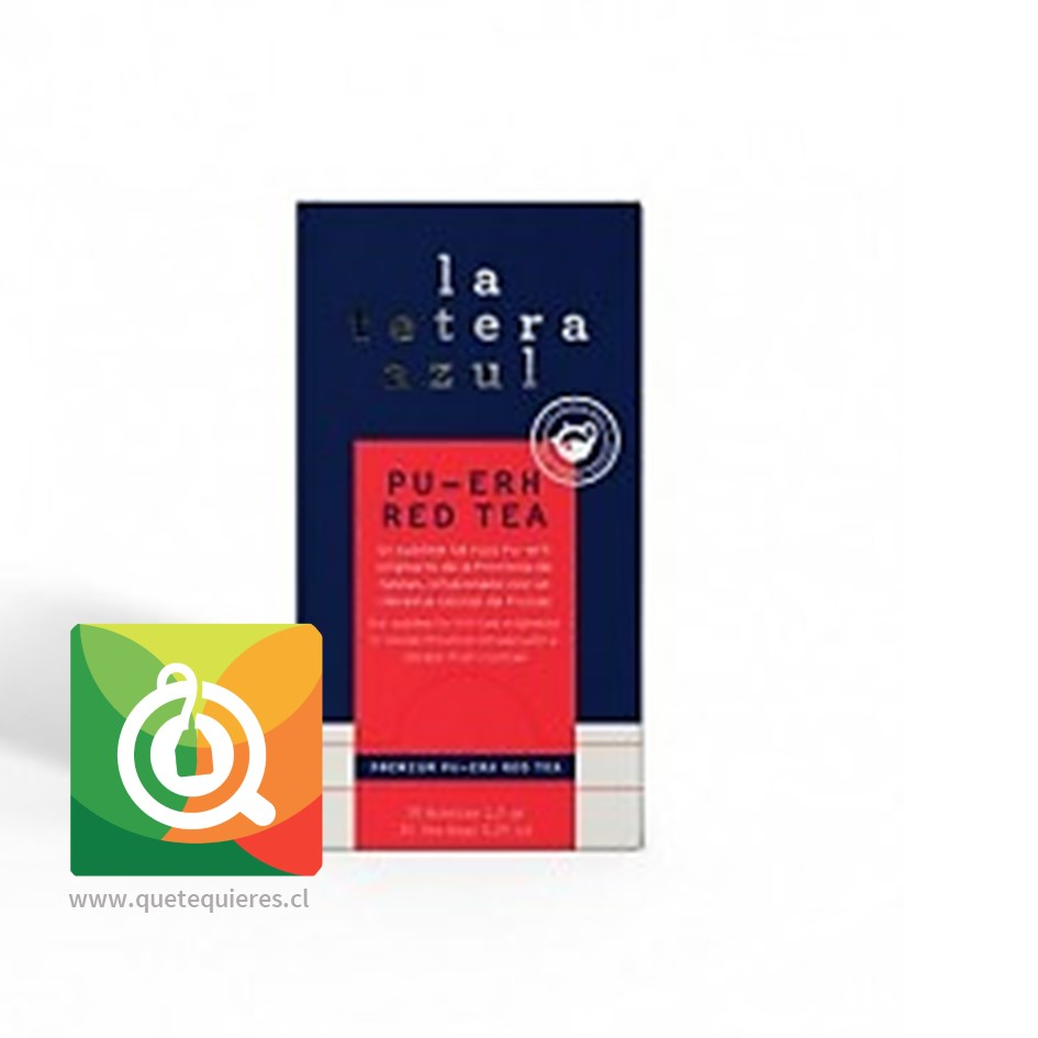 La Tetera Azul Té Pu-erh y Frutos Rojos- Image 1