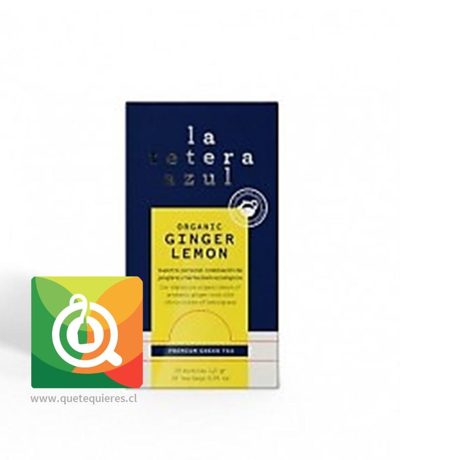 La Tetera Azul Infusión limón Jengibre - Lemon Ginger 30 Bolsitas- Image 1