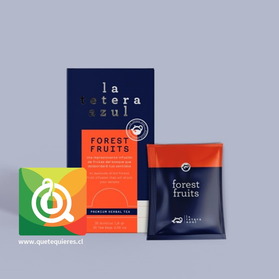 La Tetera Azul Infusión Frutos del Bosque - Image 2