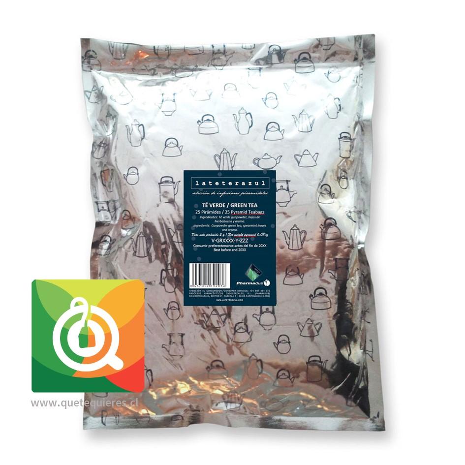 La Tetera Azul Té Verde Menta Orgánico -  Organic Green Tea 25 x 2 gr- Image 2