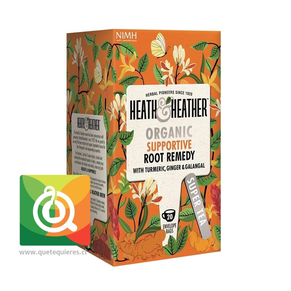 Heath & Heather Infusión Orgánica Remedio de Raíz- H & H Organic Supportive Root Remedi