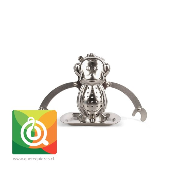 Kikkerland Infusor de té Mono - Monkey Tea Infuser- Image 1