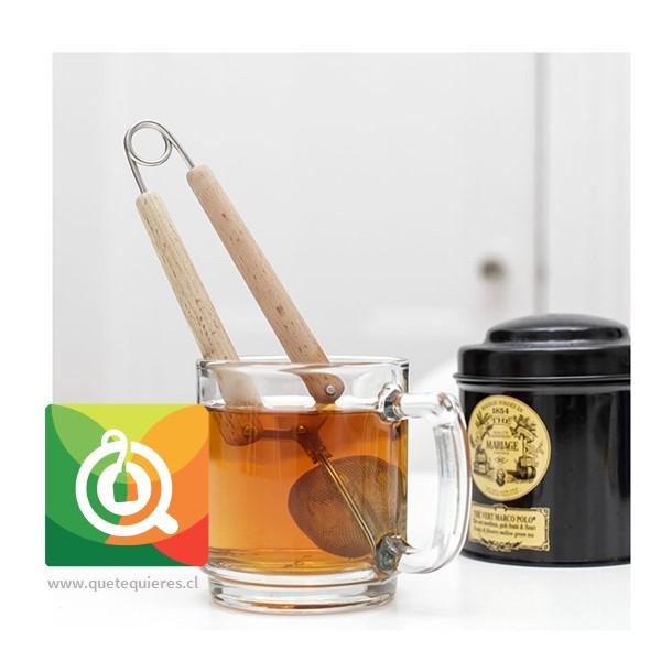 Kikkerland Infusor de té Malla - Snap Mesh Tea Infuser- Image 3