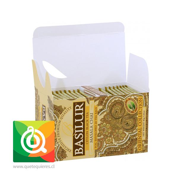 Basilur Té Negro Masala Chai - Ceylon Black Tea Masala Chai 20 bolsitas- Image 2