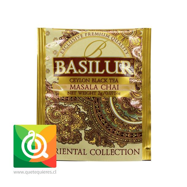 Basilur Té Negro Masala Chai - Ceylon Black Tea Masala Chai 20 bolsitas- Image 3