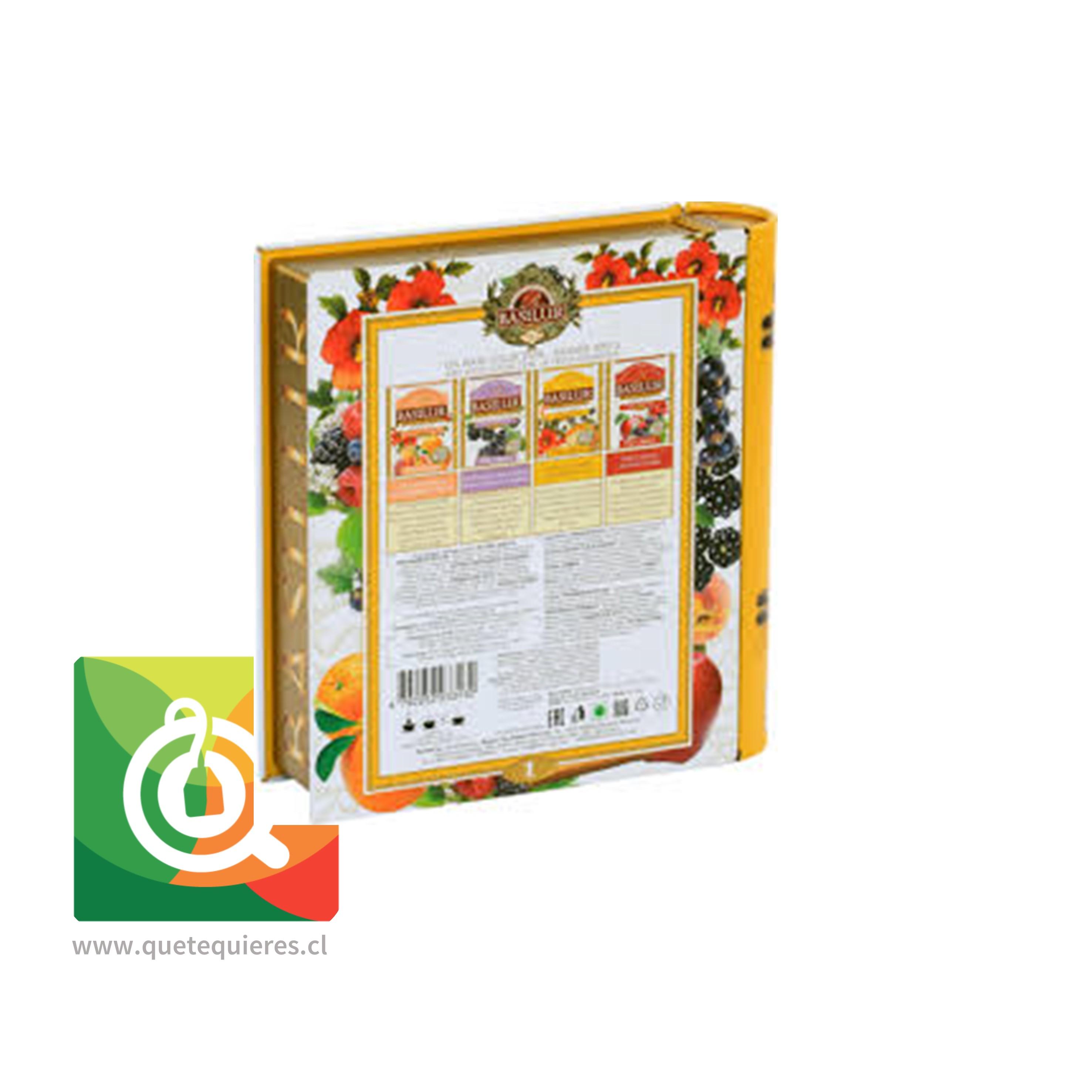 Basilur Libro Té Surtido Infusiones Frutales - Fruit infusion 1 Tea Book Assorted- Image 2