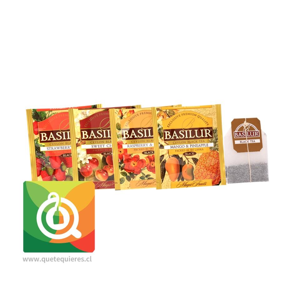 Basilur Surtido de Té Negro Frutal - Gift Magic Fruit Collection - Image 3