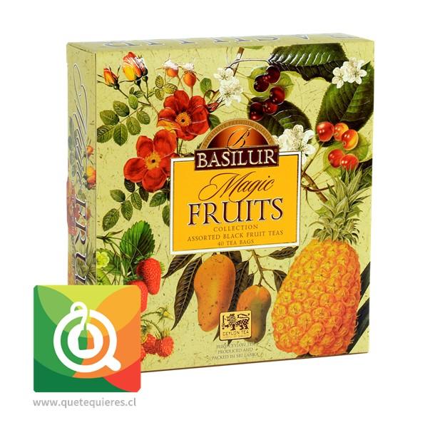 Basilur Surtido de Té Negro Frutal - Gift Magic Fruit Collection - Image 1