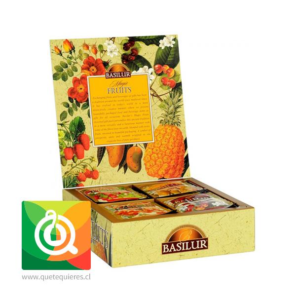 Basilur Surtido de Té Negro Frutal - Gift Magic Fruit Collection - Image 2