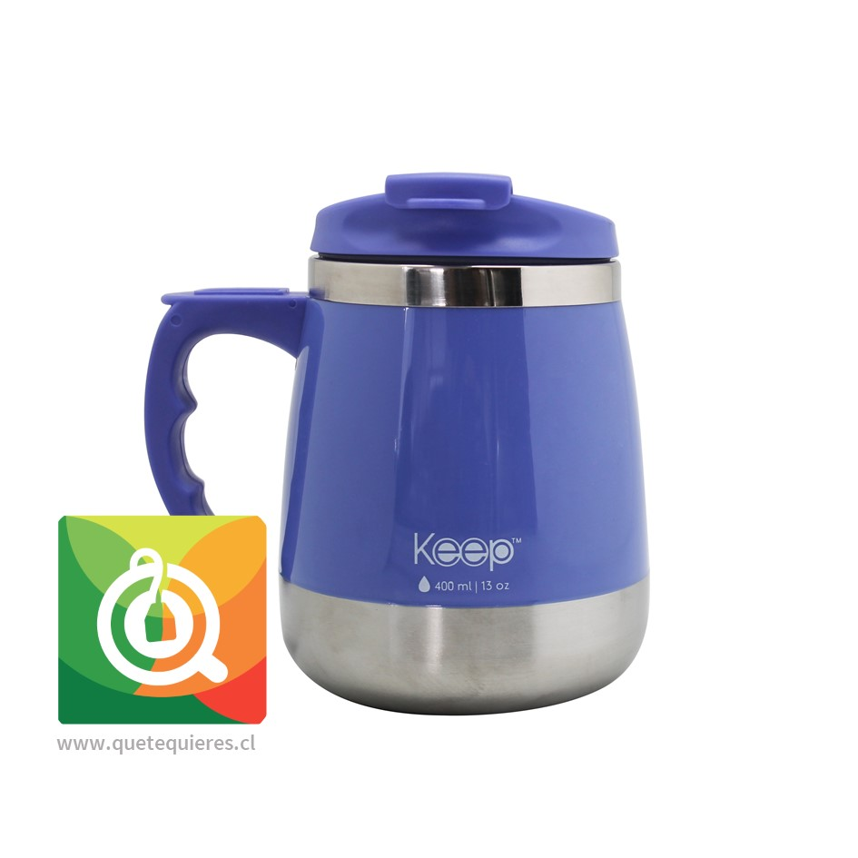 Keep Mug Taza Outdoor Gorda 400 ml Morado