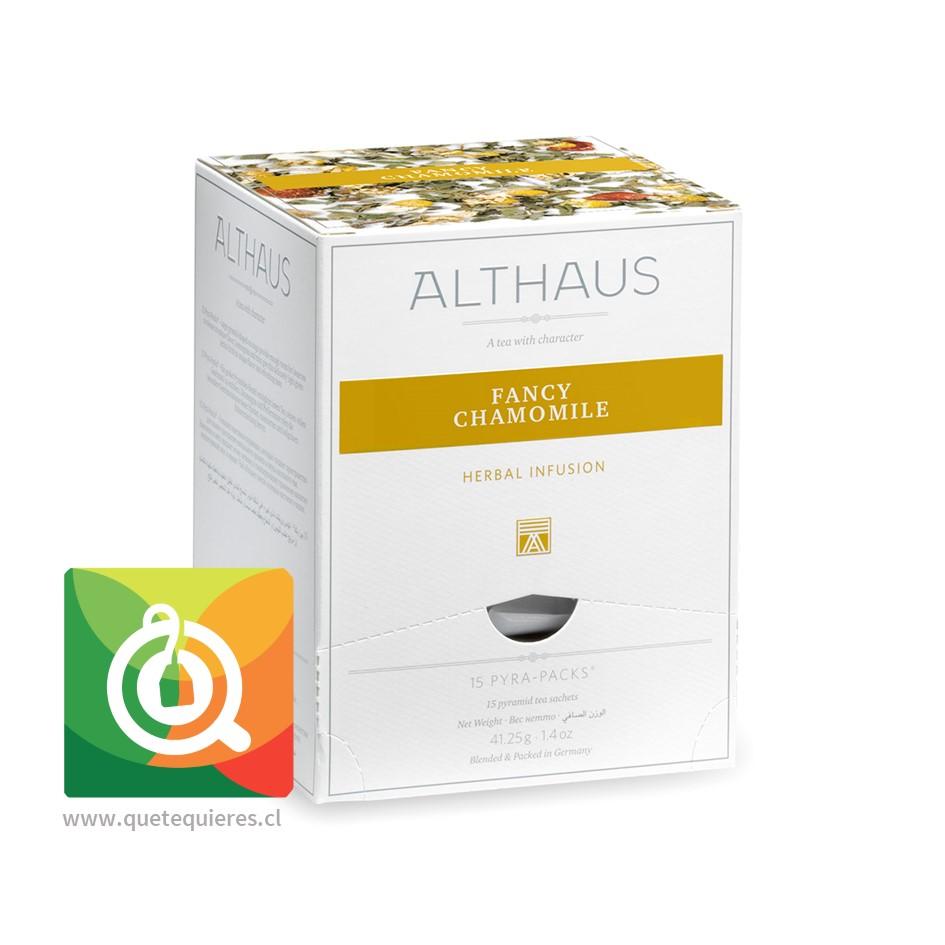 Althaus Infusión Fancy Chamomile (manzanilla y hierbas) 15 pirámides - Image 1