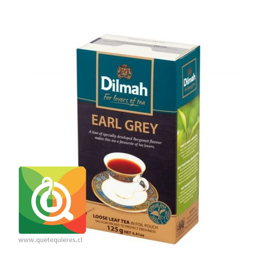 Té Dilmah Single Region Earl Grey 125 gr. en Hoja