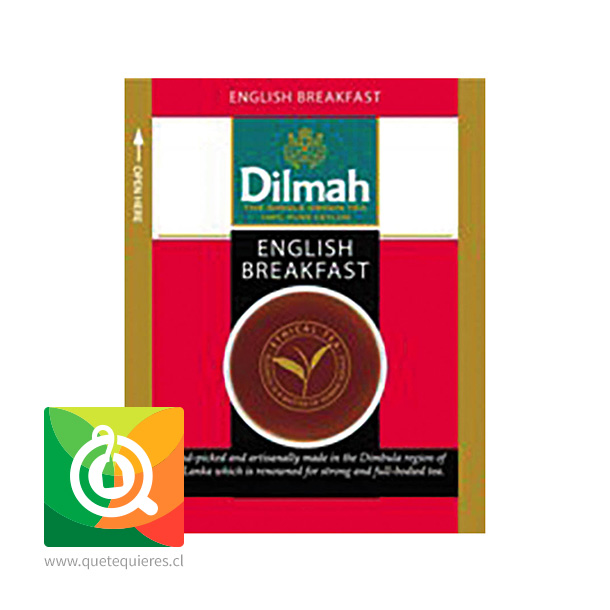 Dilmah Té Negro English Breakfast 10 bolsitas- Image 3