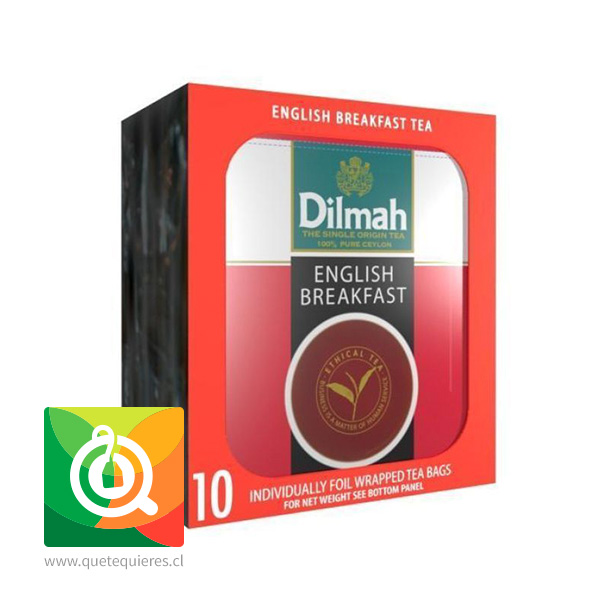Dilmah Té Negro English Breakfast 10 bolsitas- Image 2