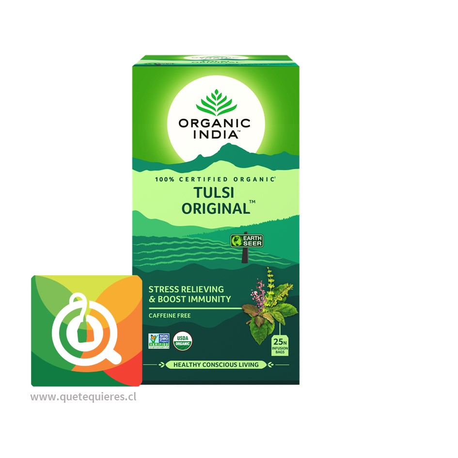 Organic India Tulsi Original - Infusión Orgánica Tulsi