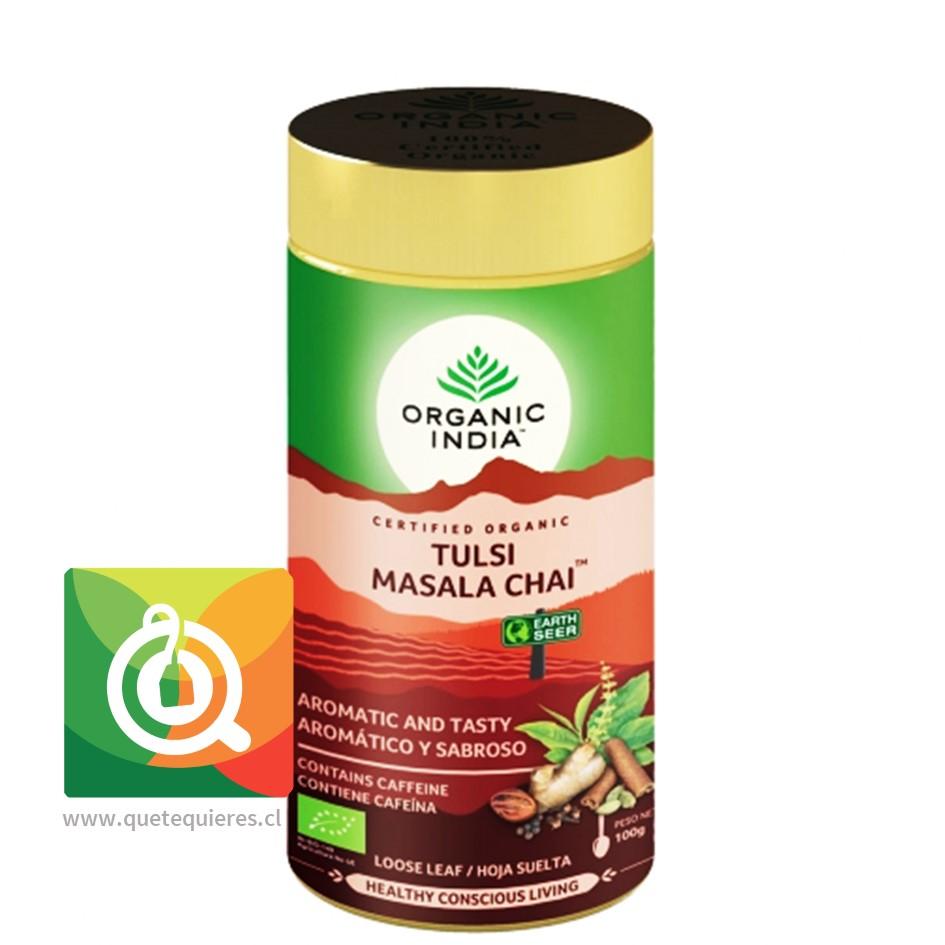 Organic India Tulsi Masala Chai- Infusión Orgánica Tulsi en Hoja
