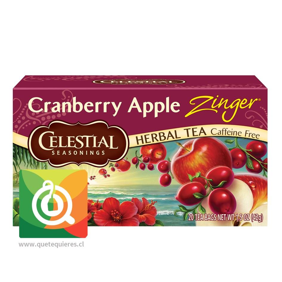 Celestial Cranberry Apple - Infusión Cranberry y Manzana 20 bolsitas