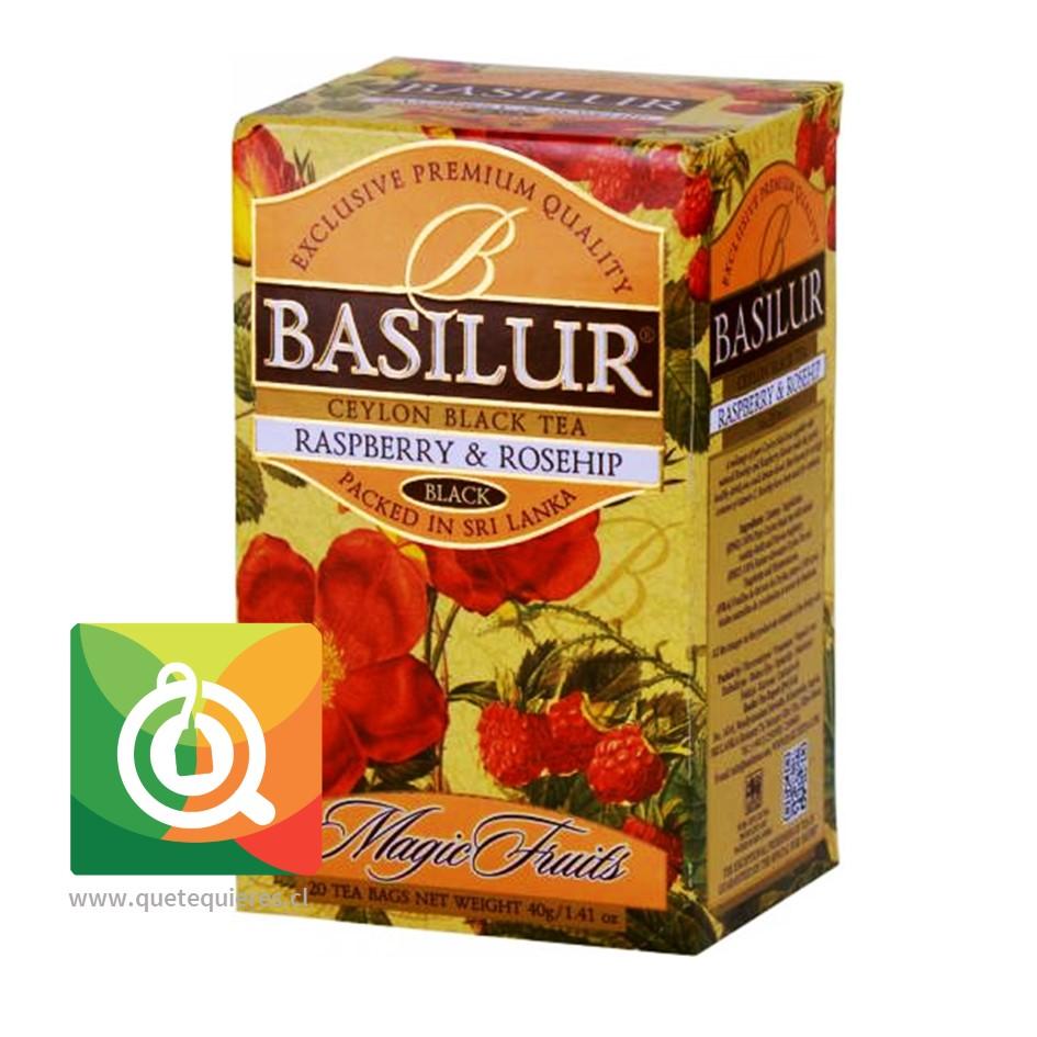 Basilur Té Negro Frambuesa y Rosa Mosqueta - Raspberry & Rosehip- Image 1