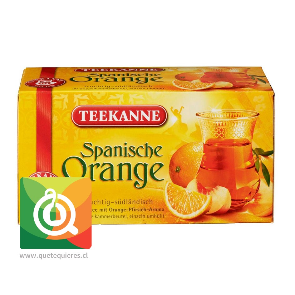 Teekanne Spanish Orange - Infusión de Naranja y Durazno - Image 1