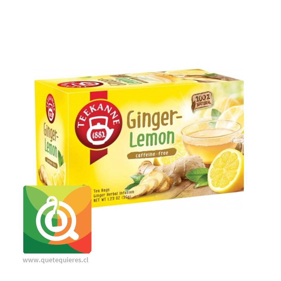 Teekanne Ginger lemon - Infusión de jenjibre y limón- Image 1