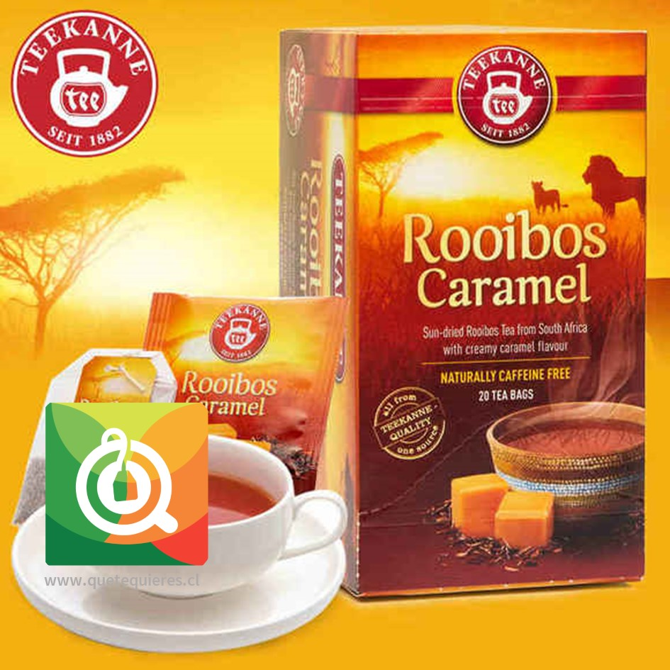 Teekanne RooibosCaramel - Infusión Rooibos Caramelo- Image 5