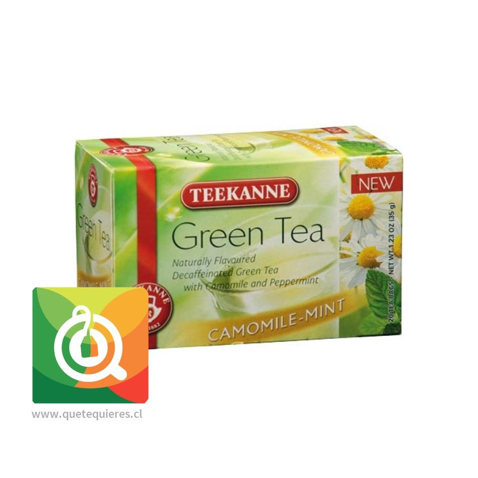 Teekanne Green Tea Decaf - Té Verde Descafeinado Mazanilla y Menta- Image 1