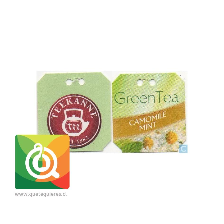 Teekanne Green Tea Decaf - Té Verde Descafeinado Mazanilla y Menta- Image 5