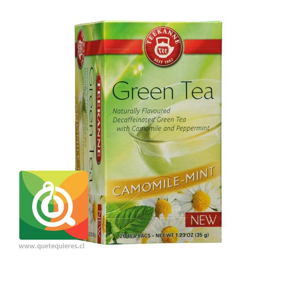 Teekanne Green Tea Decaf - Té Verde Descafeinado Mazanilla y Menta- Image 2