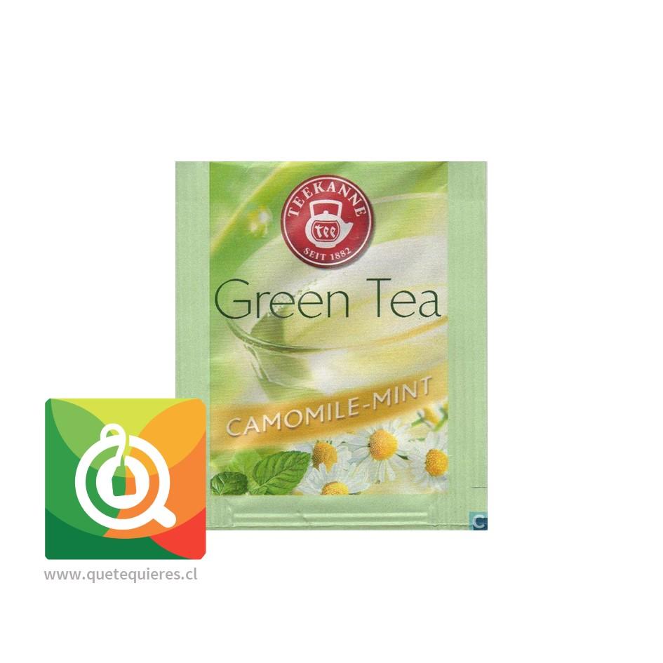 Teekanne Green Tea Decaf - Té Verde Descafeinado Mazanilla y Menta- Image 3
