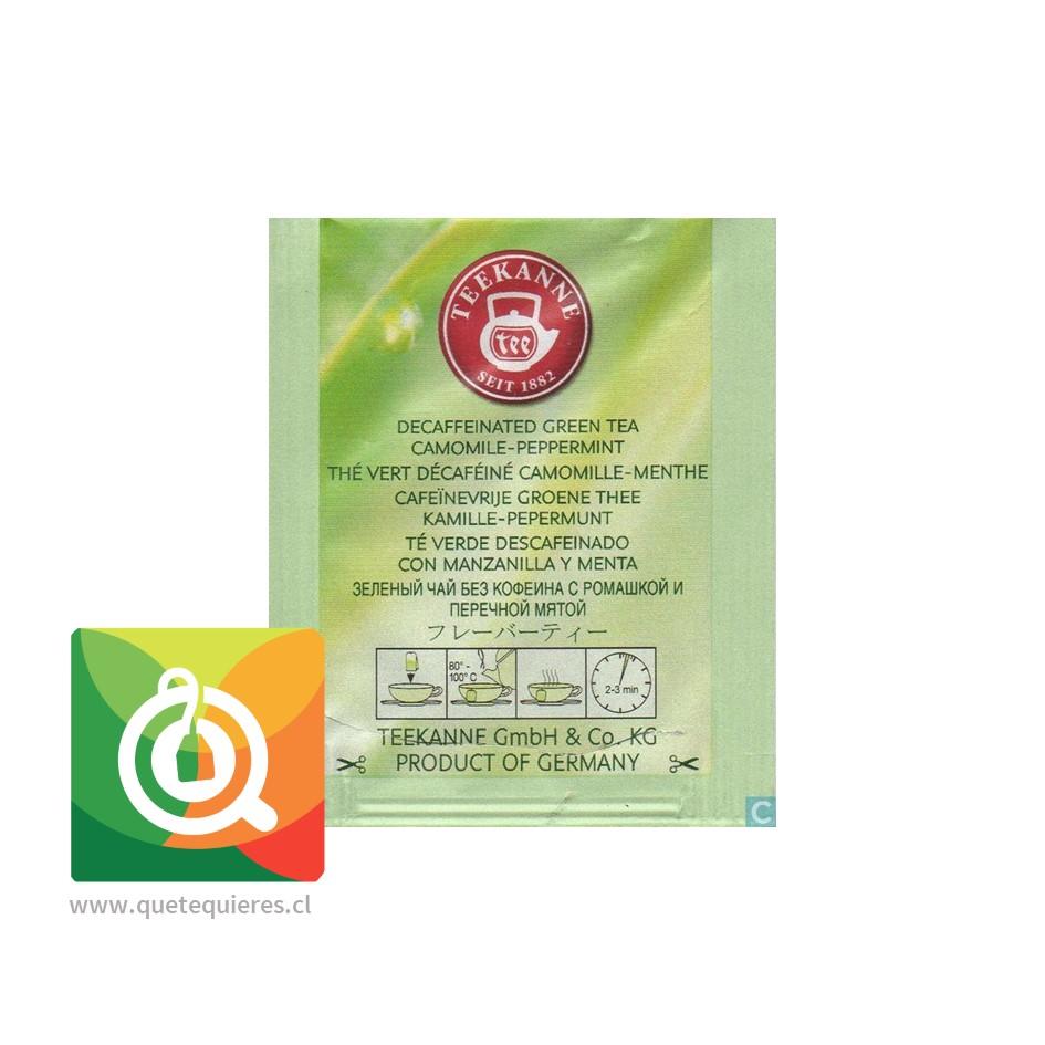 Teekanne Green Tea Decaf - Té Verde Descafeinado Mazanilla y Menta- Image 4
