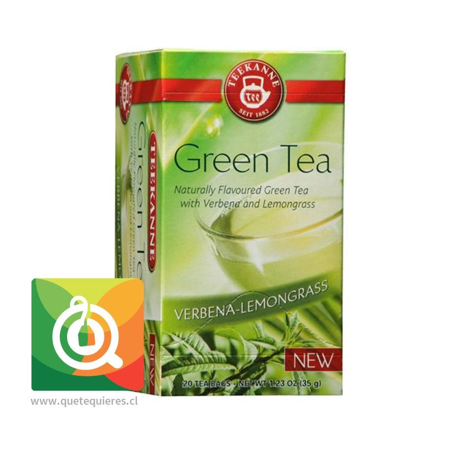 Teekanne Green Tea Verbena Lemongrass - Té Verde Cedrón y Hierba Limón- Image 2