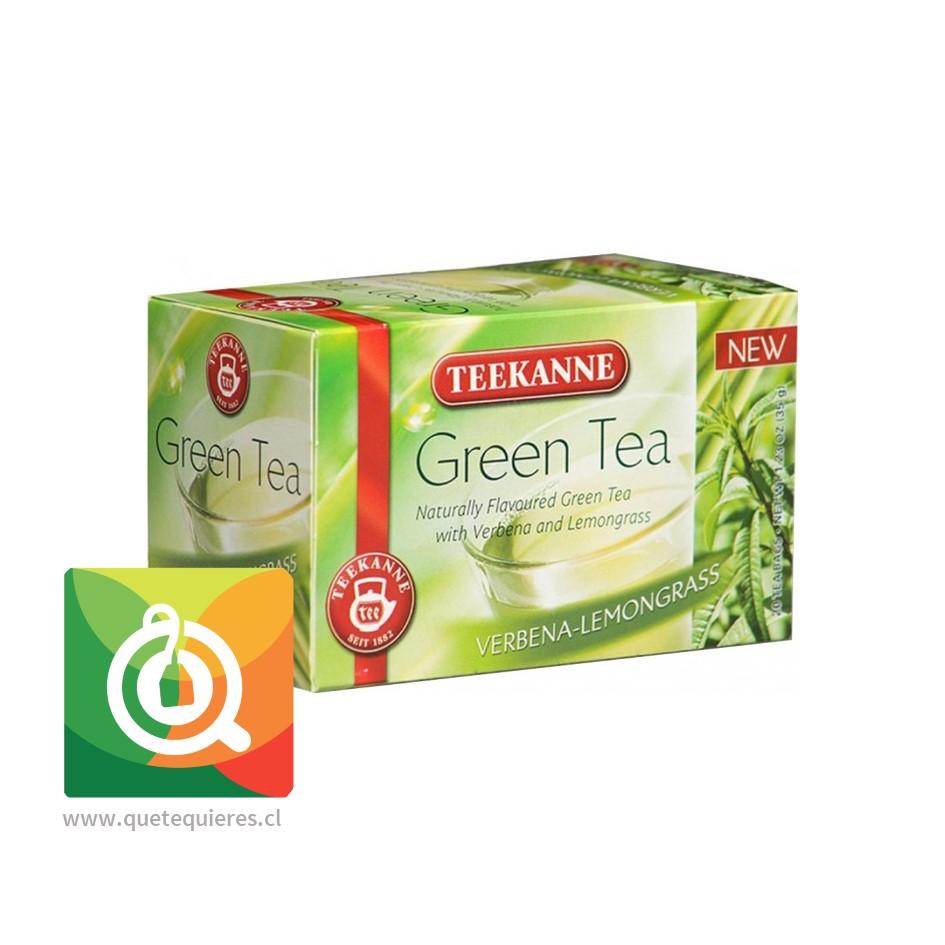 Teekanne Green Tea Verbena Lemongrass - Té Verde Cedrón y Hierba Limón- Image 1