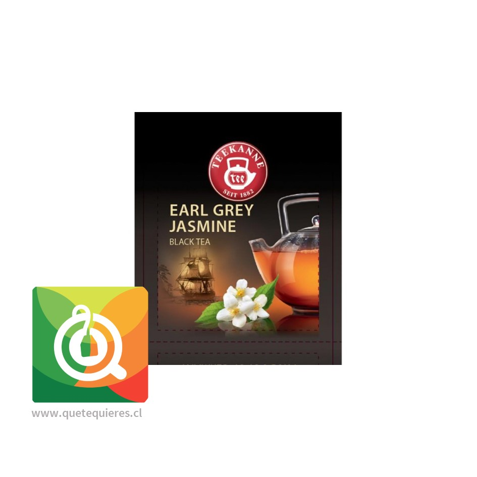 Teekanne Earl Grey Jasmine- Té Negro Bergamota y Jazmín- Image 3