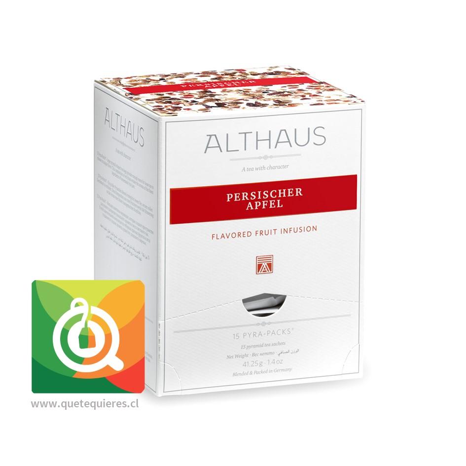 Althaus Infusión Persischer Apfel - Manzana Persa 15 Pirámides