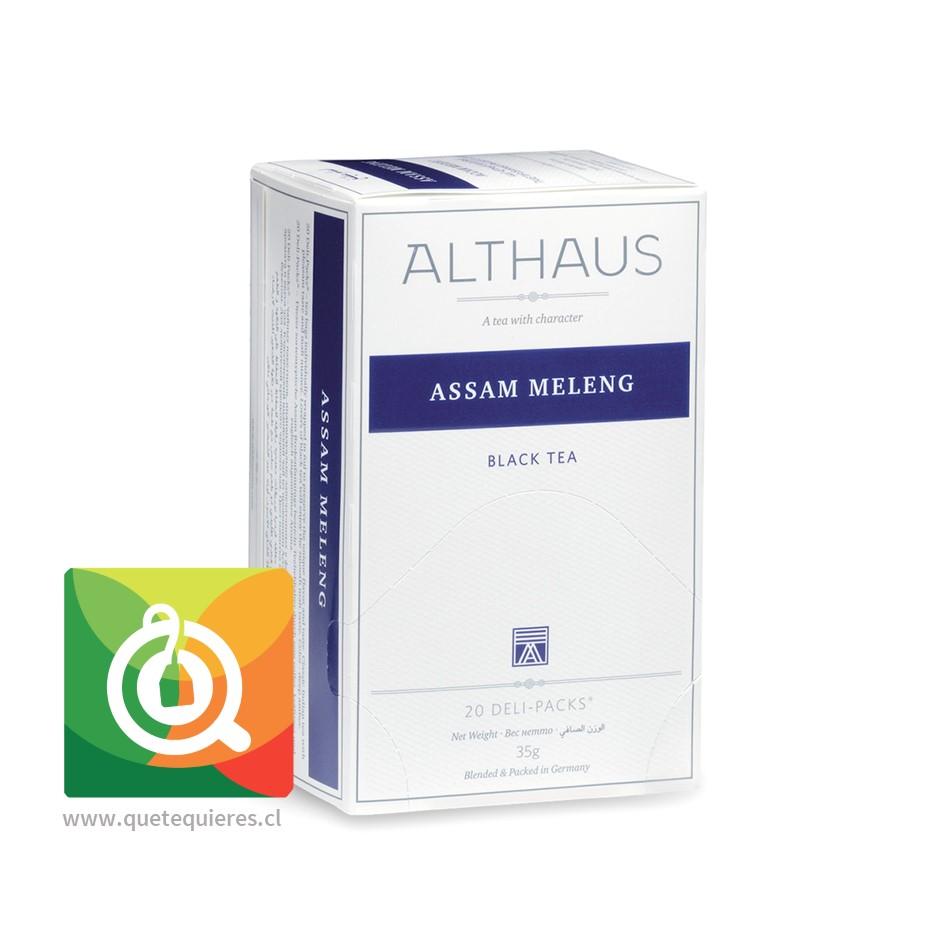 Althaus Té Negro Assam Meleng - Image 1