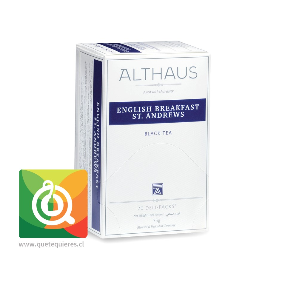 Althaus Té Negro English Breakfast ST. Andrews- Image 1