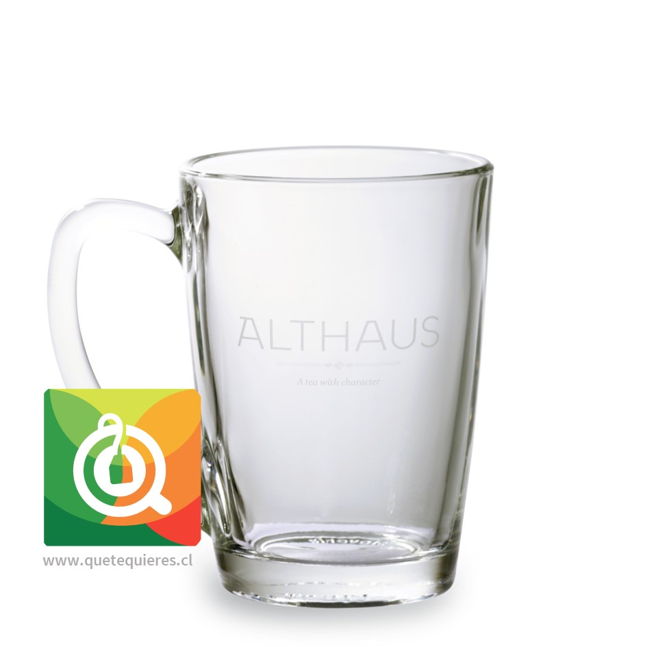 Althaus Tazón/Mug Vidrio Grande 300 ml