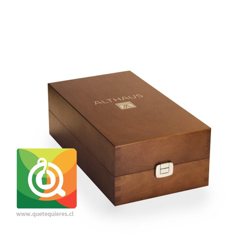 Althaus Caja de Madera - Presentador de Té Llena- Image 3