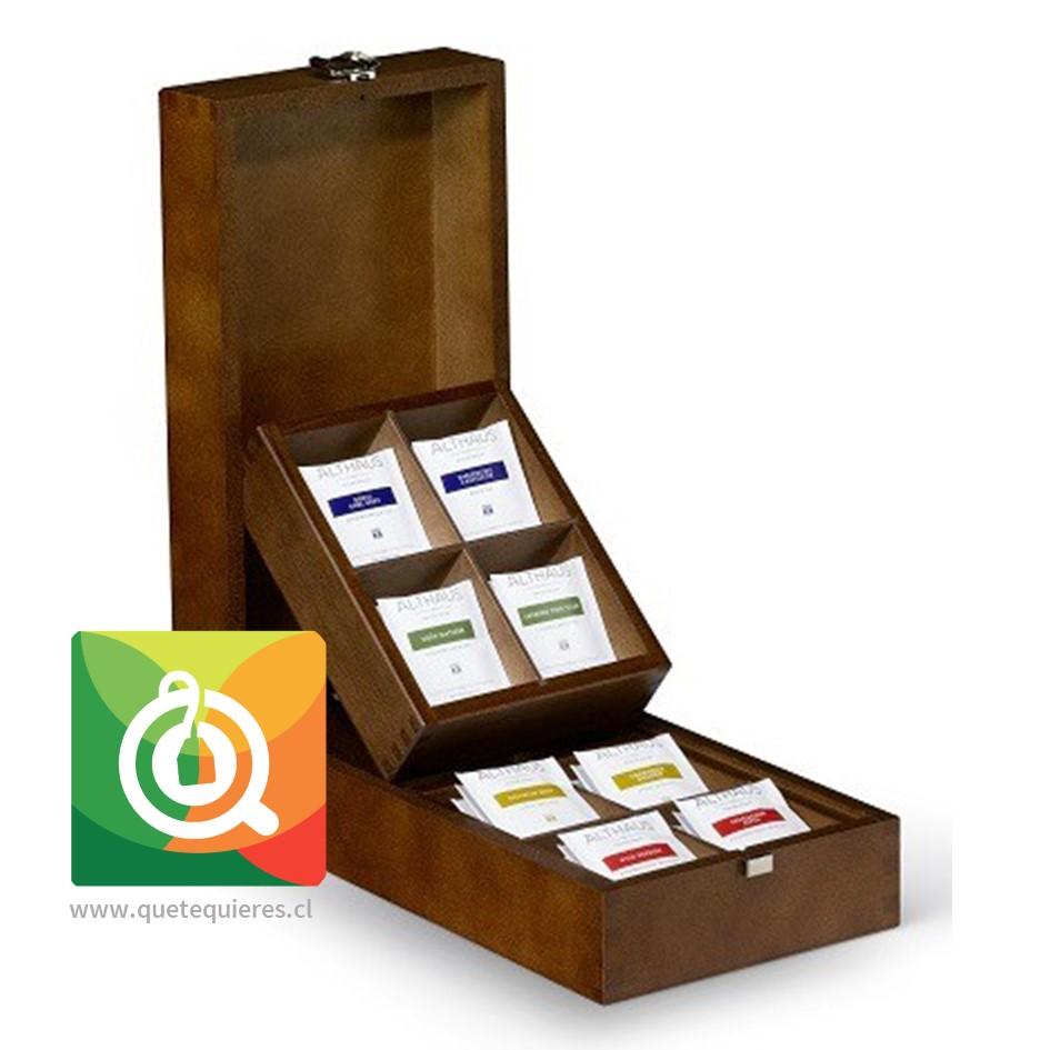 Althaus Caja de Madera - Presentador de Té Llena- Image 1