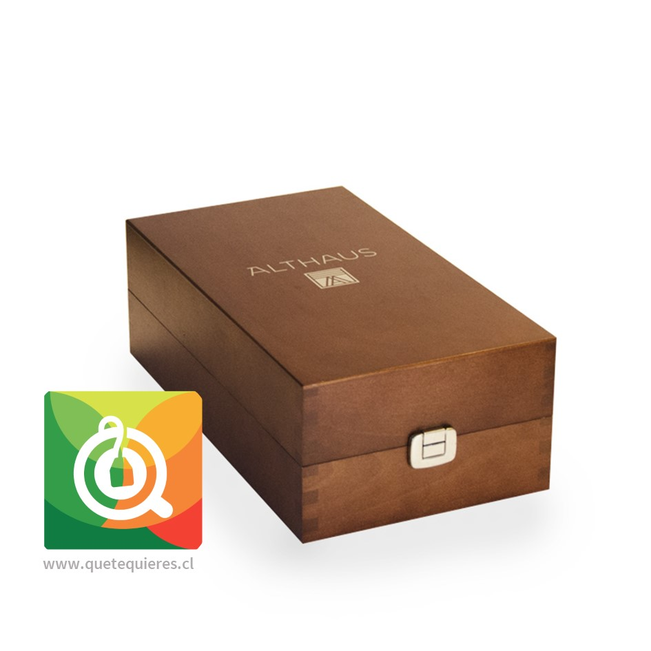 Althaus Caja de Madera - Presentador de Té Vacía- Image 2