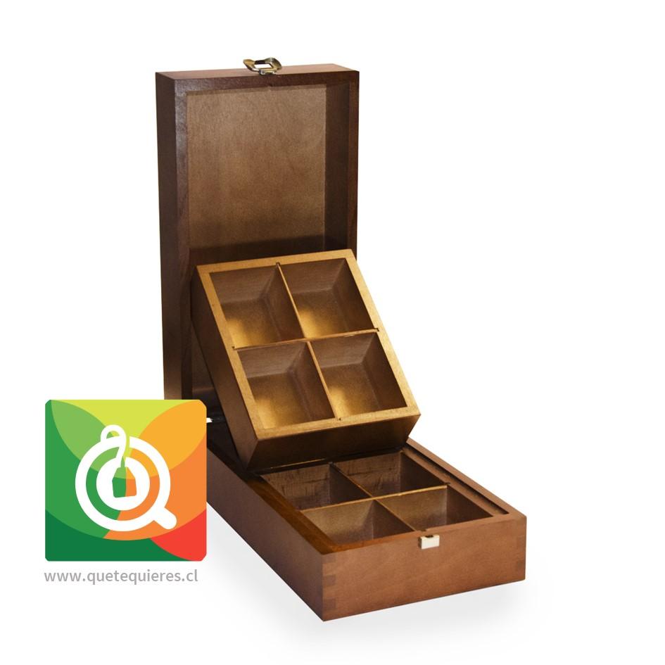 Althaus Caja de Madera - Presentador de Té Vacía- Image 1