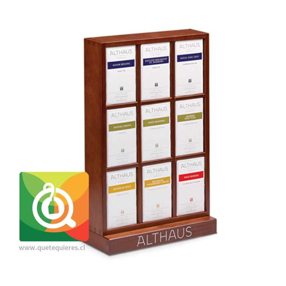 Althaus Caja de Madera - Presentador Cajitas Llena