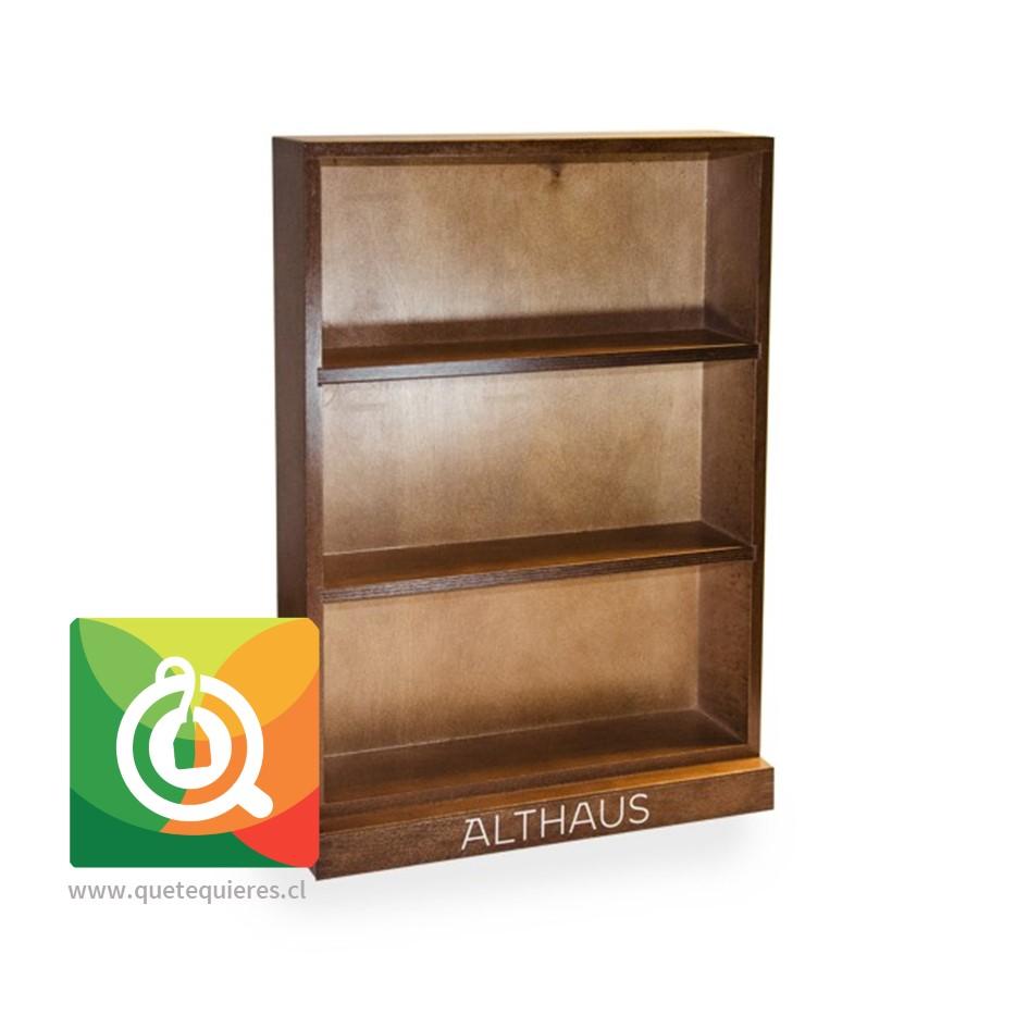 Althaus Caja de Madera - Presentador Latas Vacía